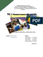 Tic y Transformacion Social