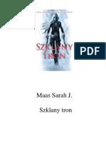 Sarah J. Maas - Szklany tron.pdf