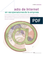 El Impacto de Internet en las Operaciones de la Empresa