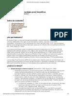 Guía Clínica de Herpes Zoster y Neuralgia Post Herpética