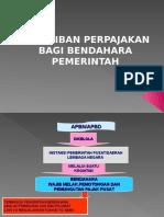 Kewajiban Perpajakan Dana APBN-APBD