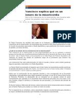 21 FRANSISCO Misioneros de La Misericordia Papa Fransisco