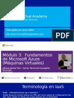 Fundamentos de Microsoft AZUREMod3