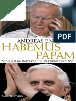Englisch, Andreas - Habemus Papam