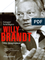 Schöllgen, Gregor - Willy Brandt - Die Biographie