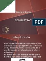 Administracion Grecia y Roma