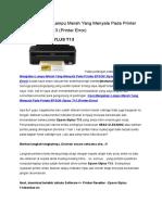 Cara Mengatasi Lampu Merah Yang Menyala Pada Printer EPSON Stylus T13.doc