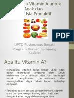 Presentasi Vitamin A