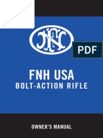 Owners Manual Bolt-Action Rifle