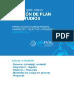 Revisión plan de estudios DG