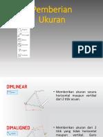 Auto CAD 4 - Pemberian Ukuran Dan Anotasi