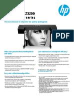HP Designjet Z3200 Data Sheet