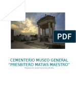 Cementerio Museo General Presbitero Matias Maestro