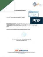 Comunicación Concesión Campeonato Don Benito