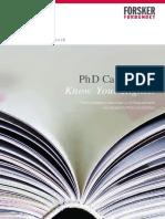 PhD Handbook 2013