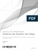 Sistema de gestion de video