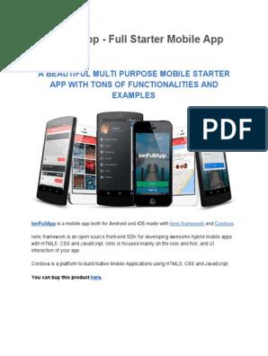 i on Full App Documentation v 2   Android (Operating System