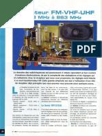 Récepteur Fm-Vhf-uhf 48à863 Mhz