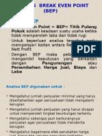 5 Analisis Break Even Point Ppsm