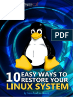 10 Easy Ways to Restore Your Linux System