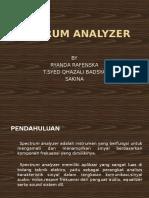 Spectrum Analyzer