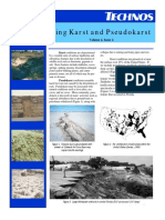 Technos_Characterizing Karst and Pseudokarst