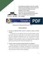 Estudo Dirigido - Educação Brasileira 2016.1 (Leandro Maia)