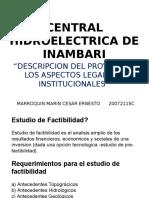 CENTRAL HIDROELECTRICA DE INAMBARI.pptx