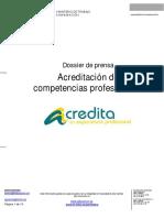 Acreditacion de Competencias Profesionales MEC