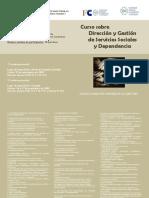 Curso Direccion y Gestion Servicios Sociales