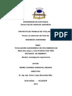 Proyecto de Trabajo de Titulación -De- Sandoval Endara Ingrid Lourdes Ciencias Agrarias de Ug.