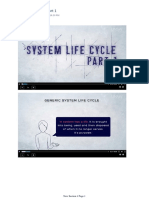 System Life Cycle Part 1 SW