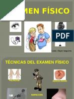 Examen fsico segmentario