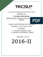 Informe Electronica 1