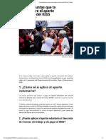 Ocho Preguntas Que Te Haces Sobre El Aporte Voluntario Del IGSS _ Diario Digital