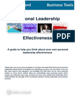 Personal Leadership Effectiveness(Final)