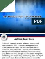 Pertemuan 9 - Aplikasi Basis Data