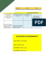 Linea Historia Evaluación Grupo 2 y 3