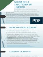 Historia de La Mercadotecnia en México