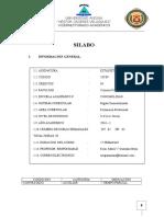 Silabo de Estadística Descriptiva UANCV 2016-I