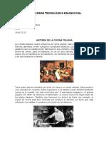 Historia de La Cocina Italiana (1)