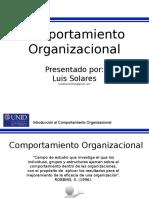 presentacioncomportamientoorganizacional-110322212241-phpapp01