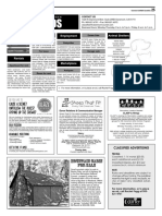 Claremont COURIER Classifieds 10-21-16