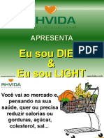 Light e Diet - Clube Da Mell