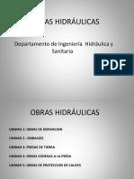 UNIDAD I Obras Hidraulicas