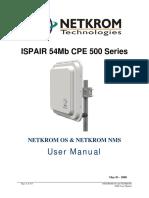 Ispair 54mb Cpe 500 Manual