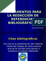 Conferencia Ref Bibliograficas