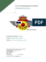1975-08-03 Avistamiento en Pozuelo de Alarcón (Madrid)