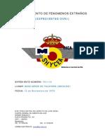 1976-11-12 Avistamiento en La Base Aerea de Talavera (Badajoz)