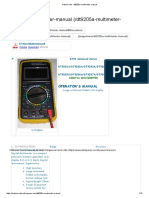 arduino-info - dt9205a-multimeter-manual.pdf